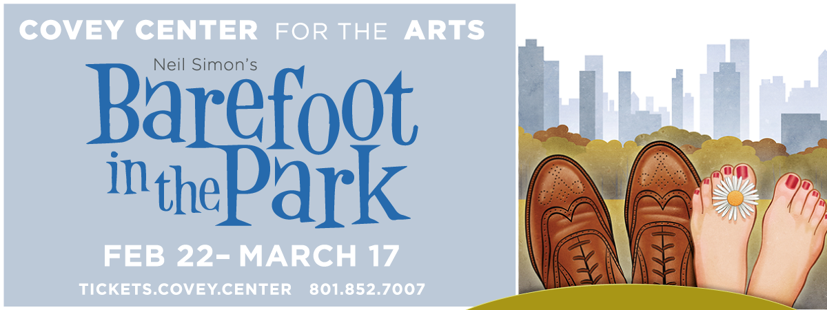 Barefoot in the Park at the Covey Center