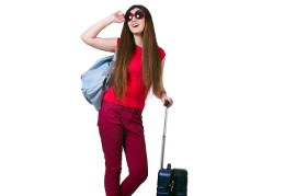 girl-in-red-with-luggage