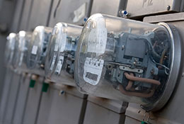 Group-of-electric-meters