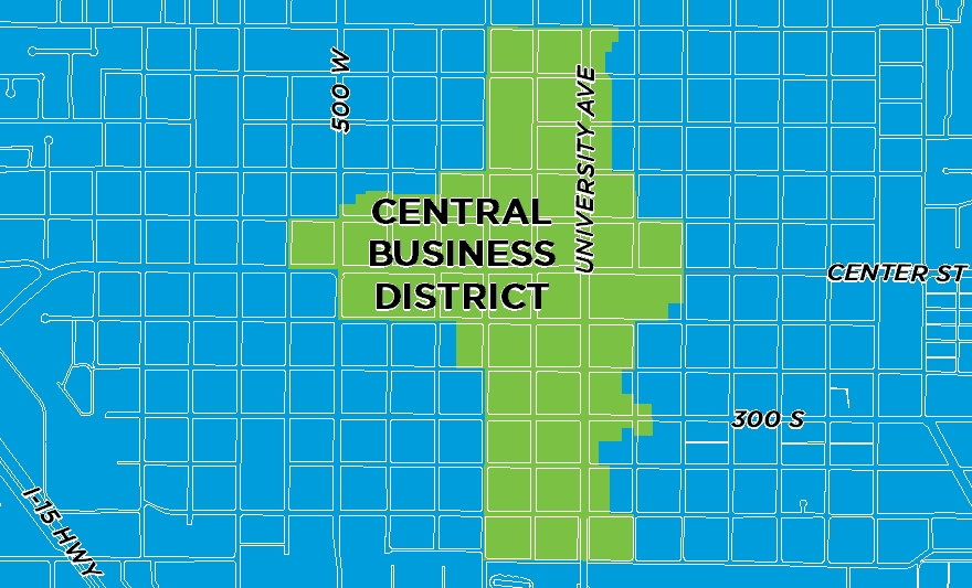 Neighborhood Central Business District