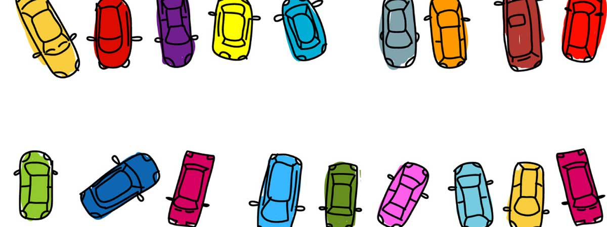 Parking Lot Toon Header