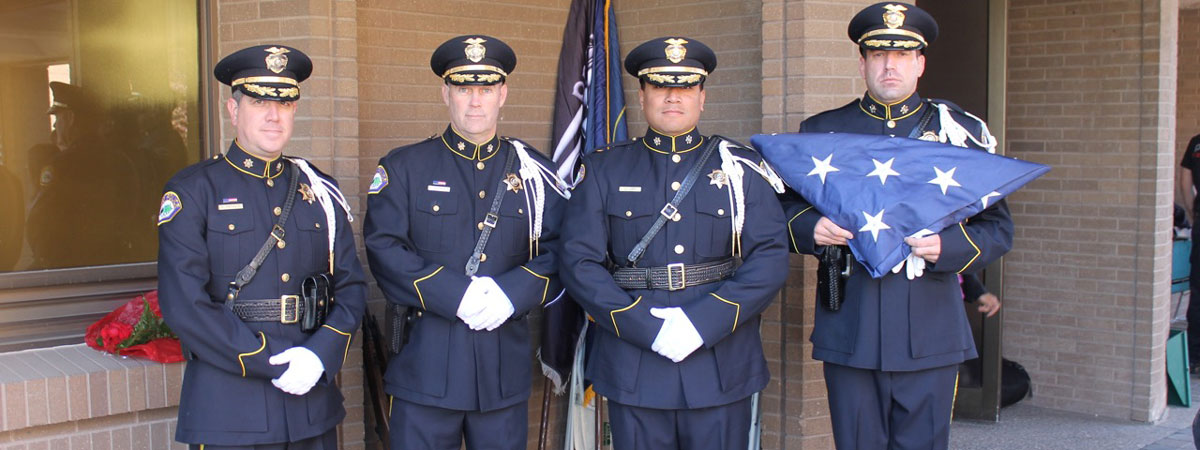 Honor Guard with Flag