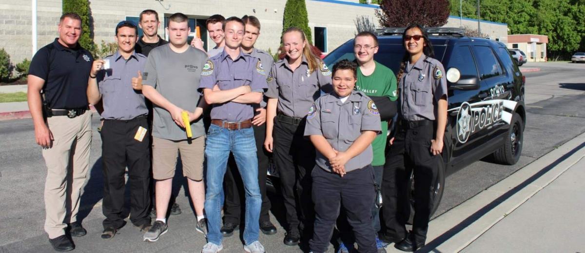 Law Enforcement Explorers | City of Provo, UT