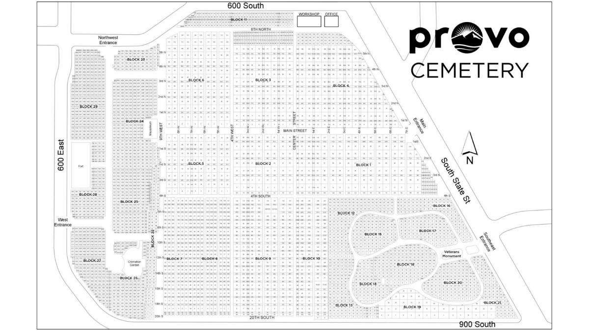 Cemetery   City of Provo, UT on tree mapping, military mapping, community development mapping, forest mapping,