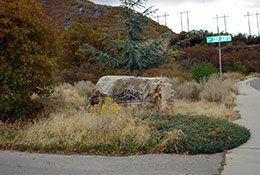 Rock-Canyon-Trailhead-Park-entrance